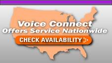 Voice Connect, Inc. National Map